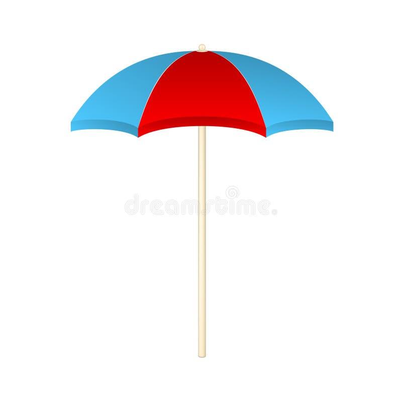 Download Beach umbrella stock vector. Illustration of hawaii, vector - 32353957