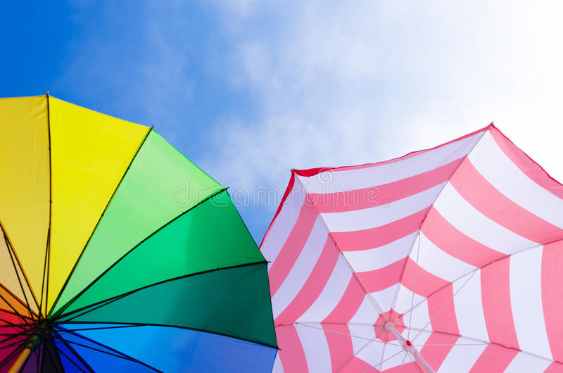 Download Beach Umbrella's Background Stock Image - Image: 39855745