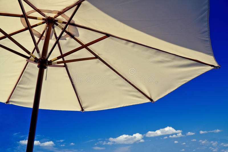 Download Beach Umbrella On A Sunny Holiday Day Royalty Free Stock Photo - Image: 20423105