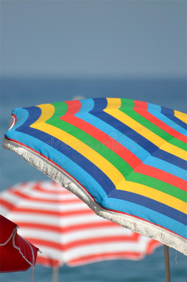 Download Beach Umbrellas stock photo. Image of great, beach, symbol - 15821192