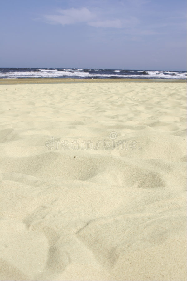 Download The beach at Usedom stock photo. Image of holiday, blau - 720894