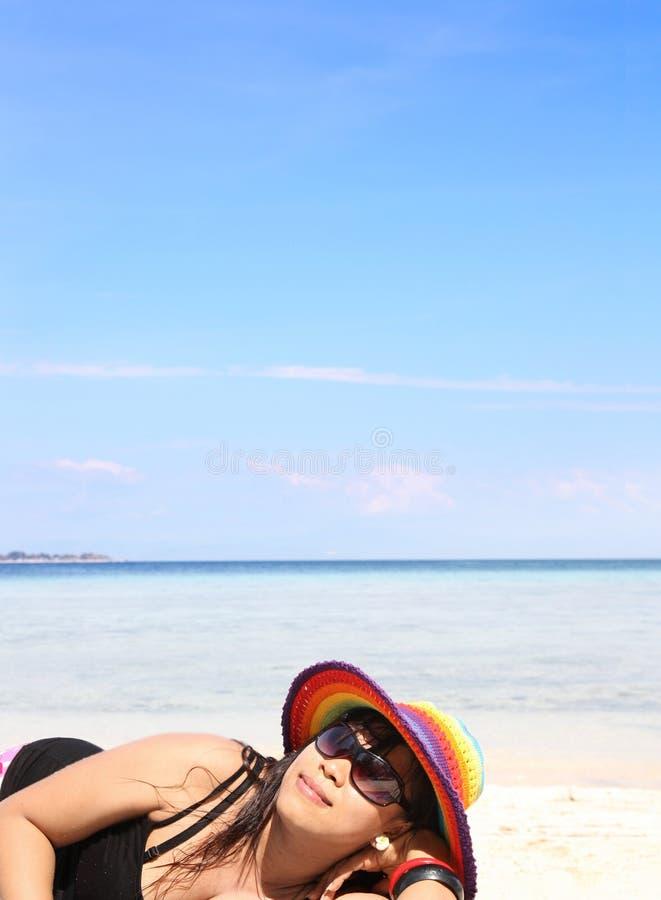 Beach vacation royalty free stock photography