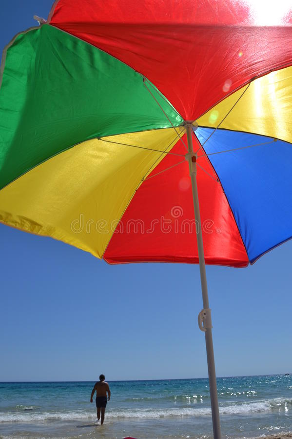 Beach vacation royalty free stock image