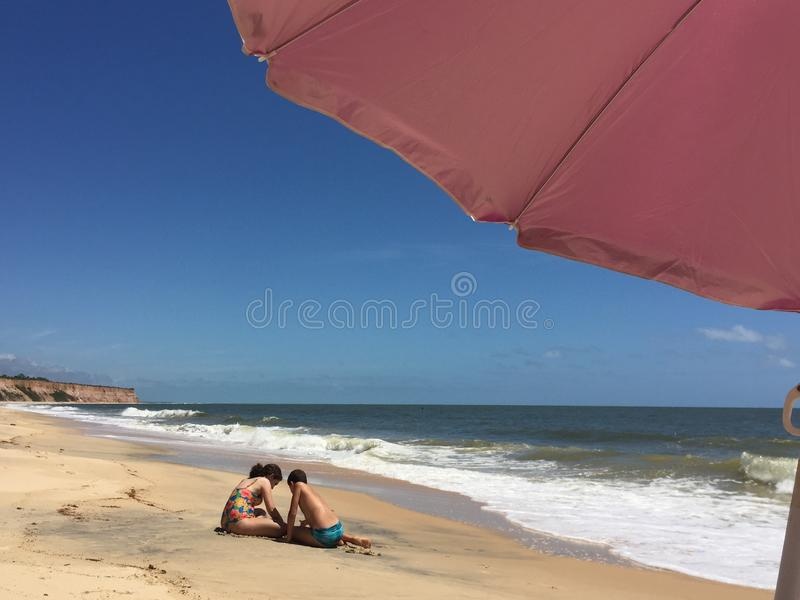 Beach, Vacation, Sky, Sea Free Public Domain Cc0 Image