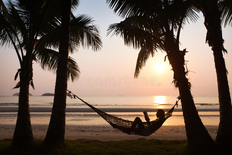 Beach vacations royalty free stock images