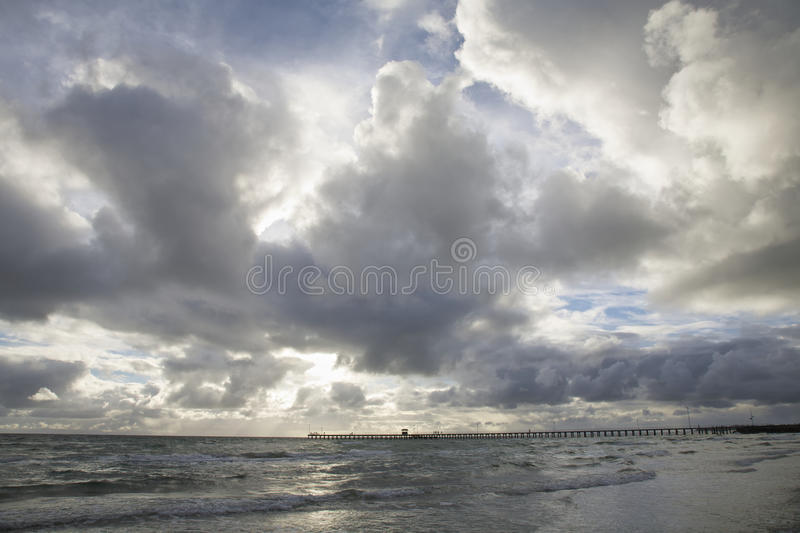 Beach view royalty free stock image