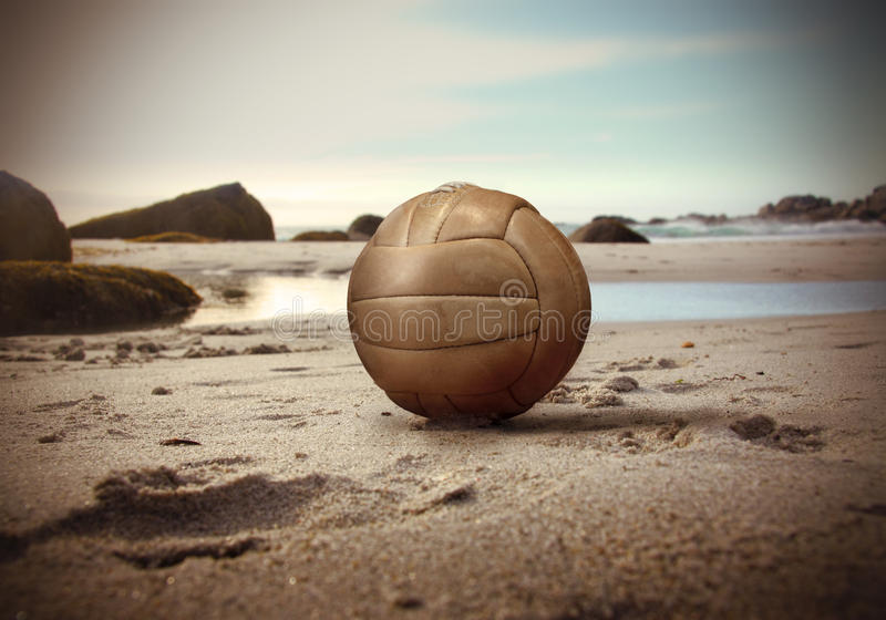 Download Beach volley stock photo. Image of sport, volley, leather - 13349196