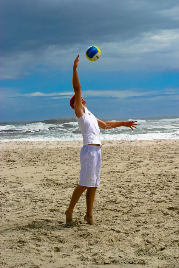 Free Beach Volley Ball 1 Stock Photography - 2218872
