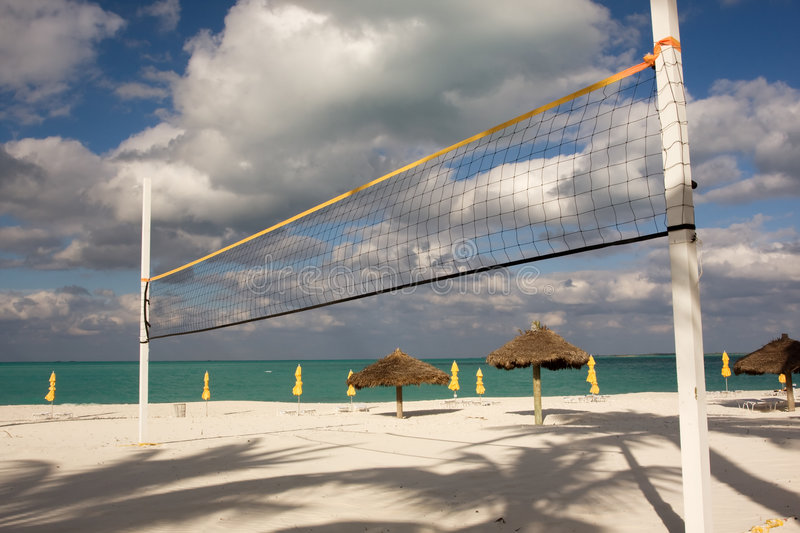 Download Beach volley ball stock image. Image of shadows, beach - 3887725