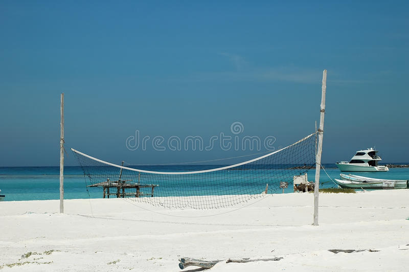 Download Beach volley ball net stock image. Image of shoreline - 11589123