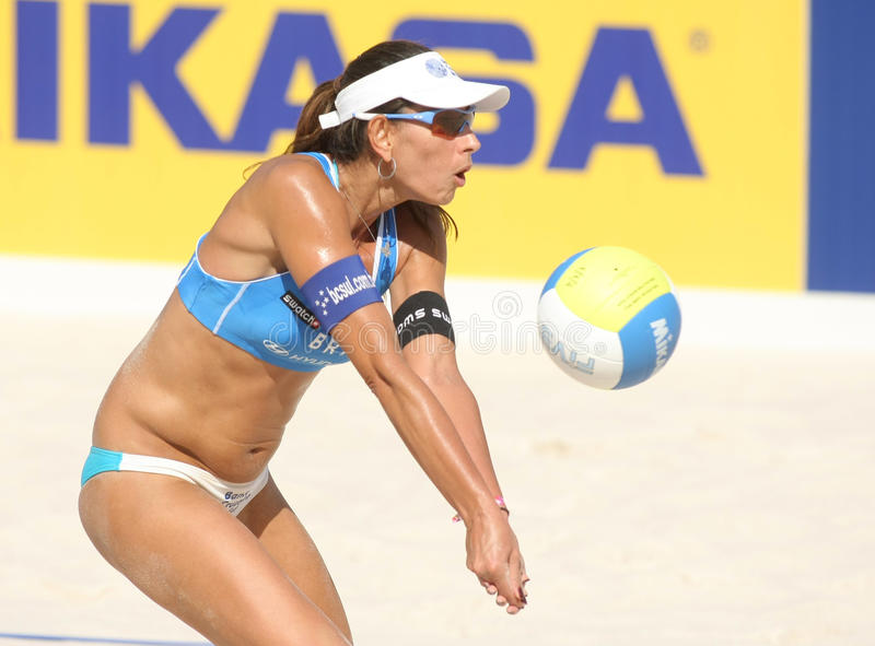 Download Beach Volley Player Ana Paula Connelly Editorial Photo - Image: 10875371