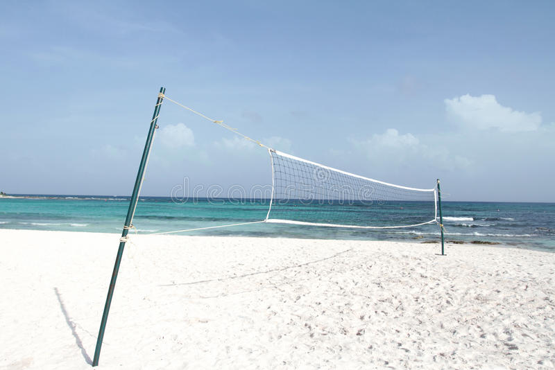 Download Beach Volleyball stock photo. Image of escape, vacation - 16990668