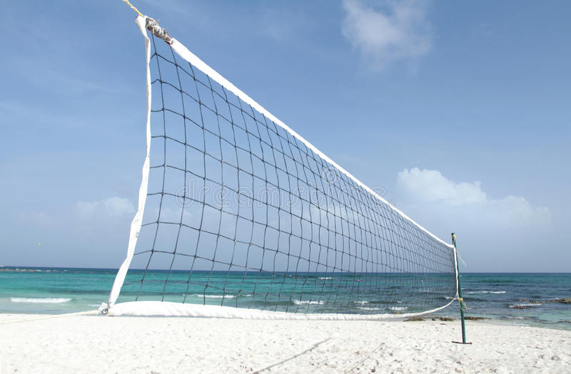 Download Beach Volleyball stock image. Image of tropics, volleyball - 16990675