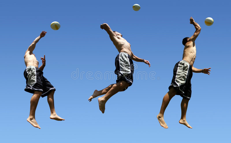 Download Beach volleyball stock image. Image of ball, outdoor, active - 183755