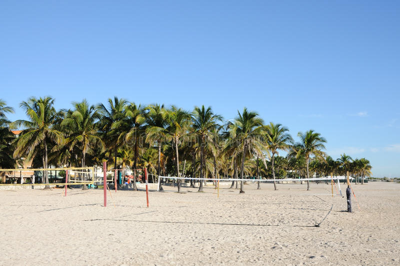Beach Volleyball Courts in Miami