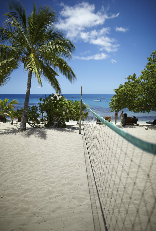 Download Beach Volleyball Field Stock Photo - Image: 13749390
