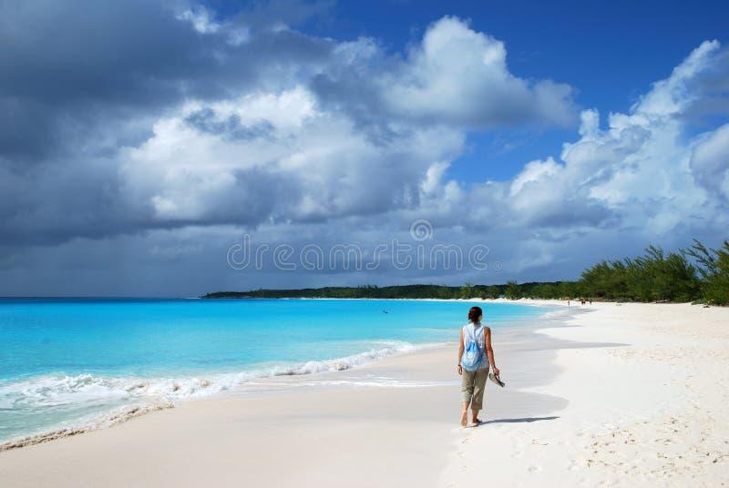 Download Beach Walk stock image. Image of girl, tourism, resort - 11815373