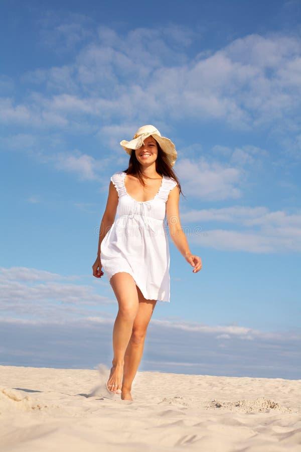 Beach Walker Royalty Free Stock Image