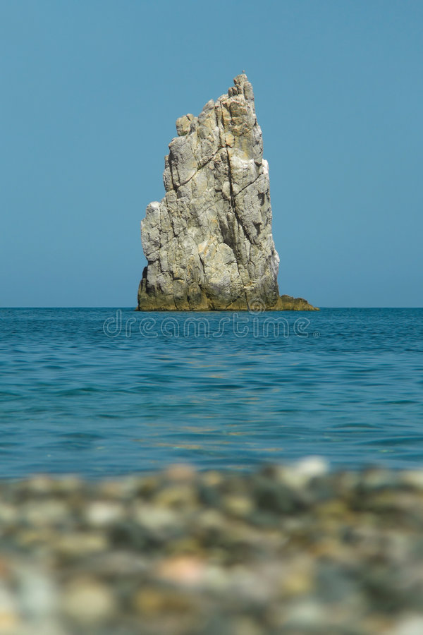 Free Beach, Water, Rock In Sea Royalty Free Stock Photos - 3200468