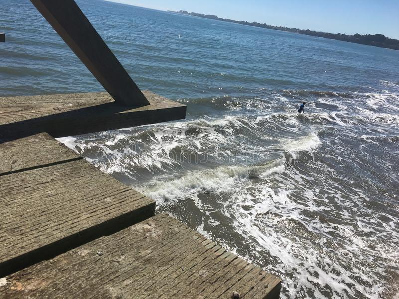 Beach Waves stock image