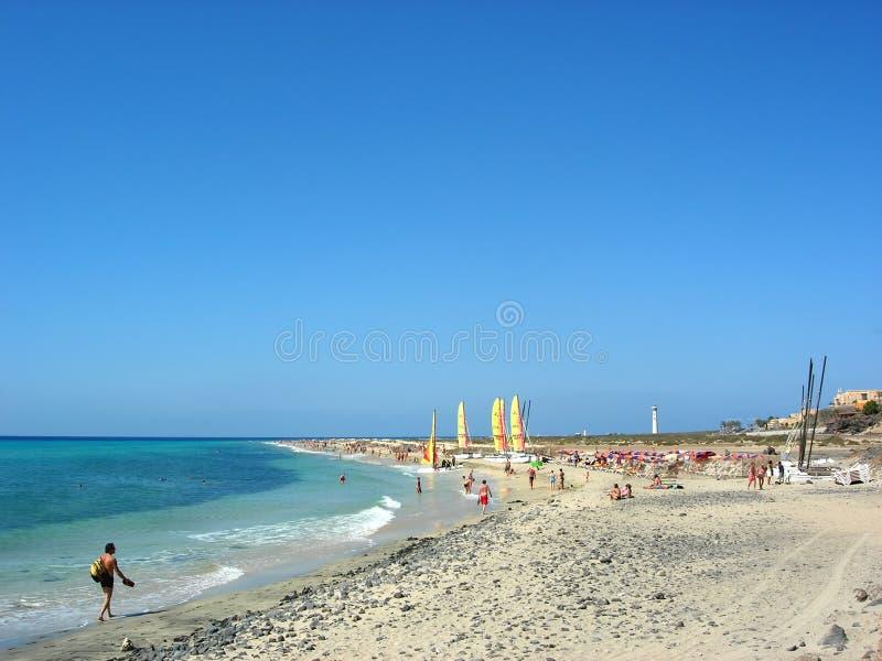 Beach7 stock foto
