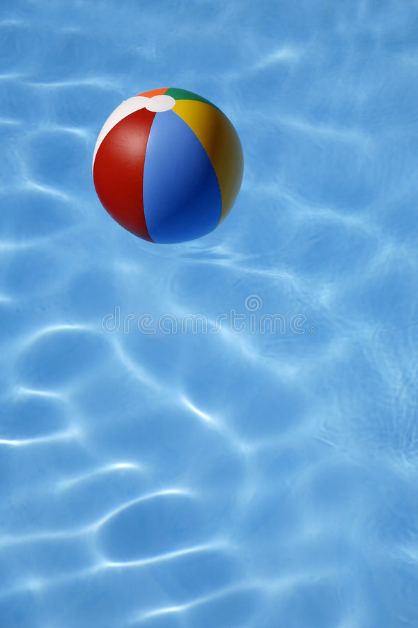 beachball水 库存图片