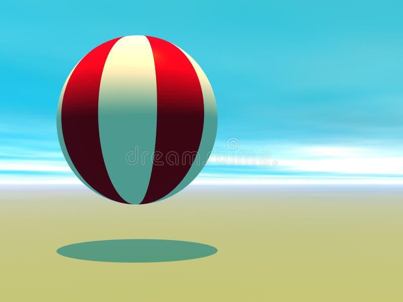 Beachball illustration de vecteur