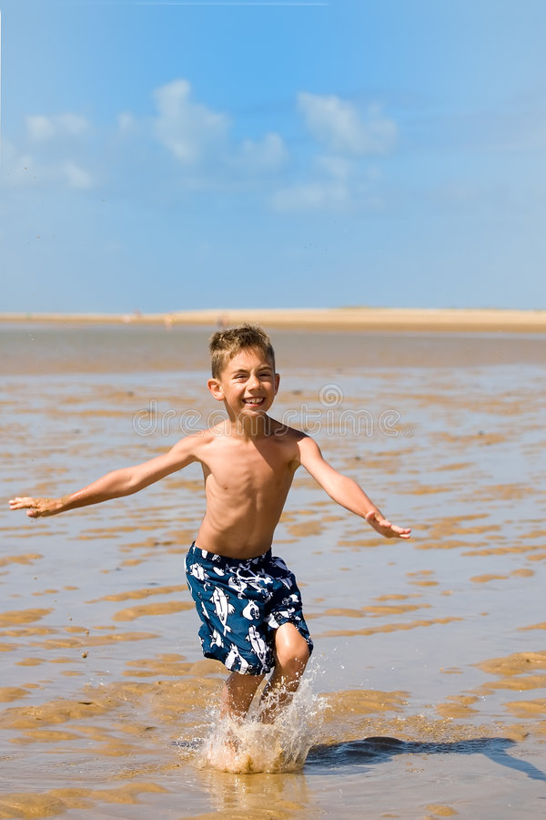Beachboy imagem de stock
