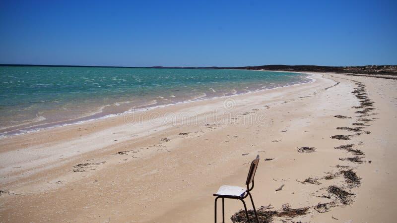 Beachchair stock photos