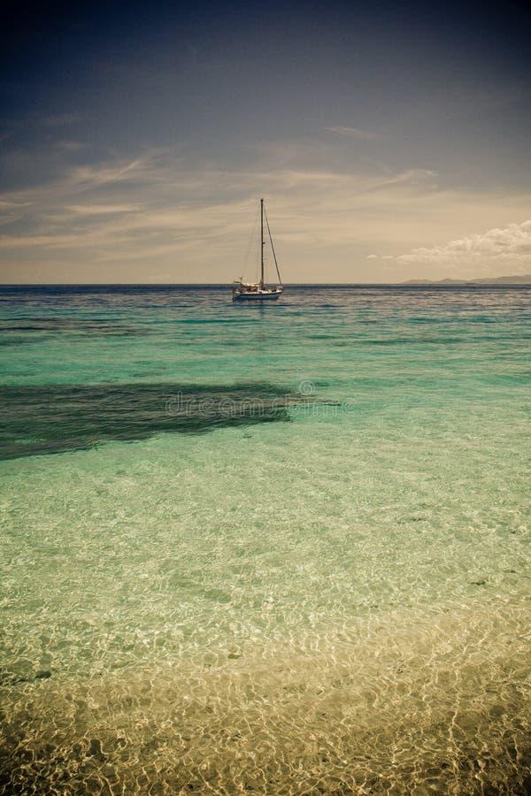 Beachcomber Island royalty free stock photos