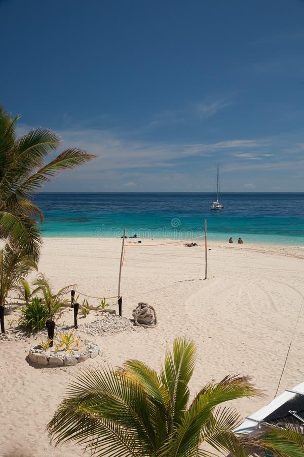 beachcomber wyspa obrazy stock