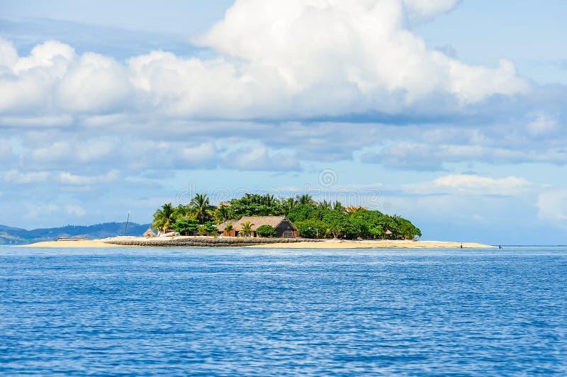 Beachcomber wyspa w Fiji fotografia stock