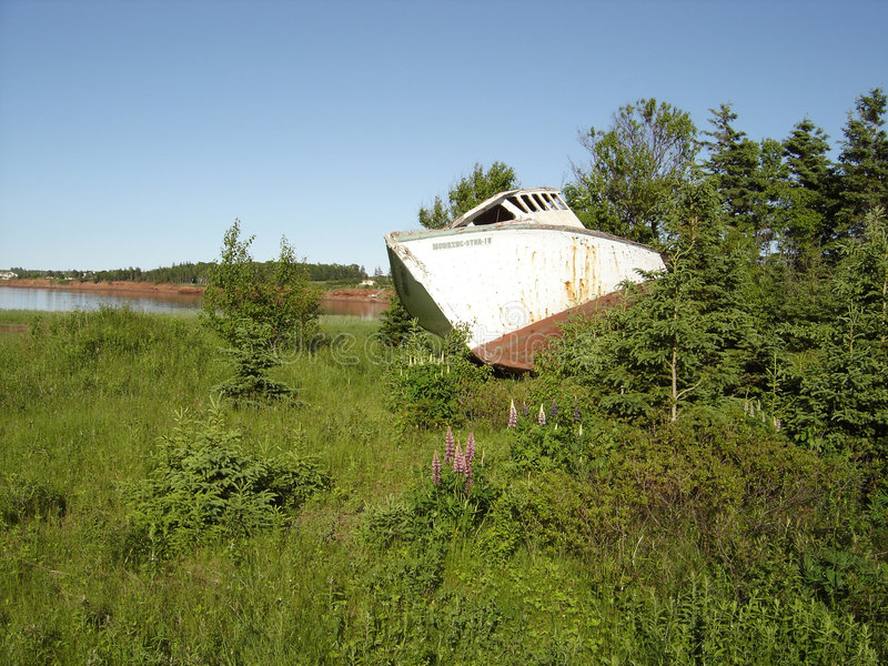 Download Beached Boat Royalty Free Stock Photos - Image: 197918