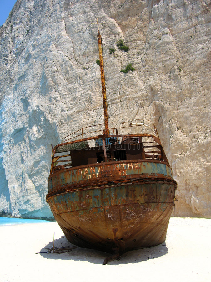 Free Beached In Zante Royalty Free Stock Image - 1022516