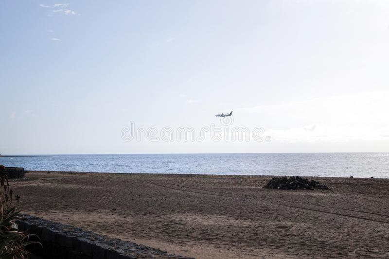 Lanzarote - Spain. Beaches on the Canary island of Lanzarote - Spain royalty free stock image
