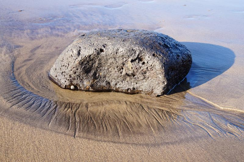 Lanzarote - Spain. Beaches on the Canary island of Lanzarote - Spain royalty free stock photos