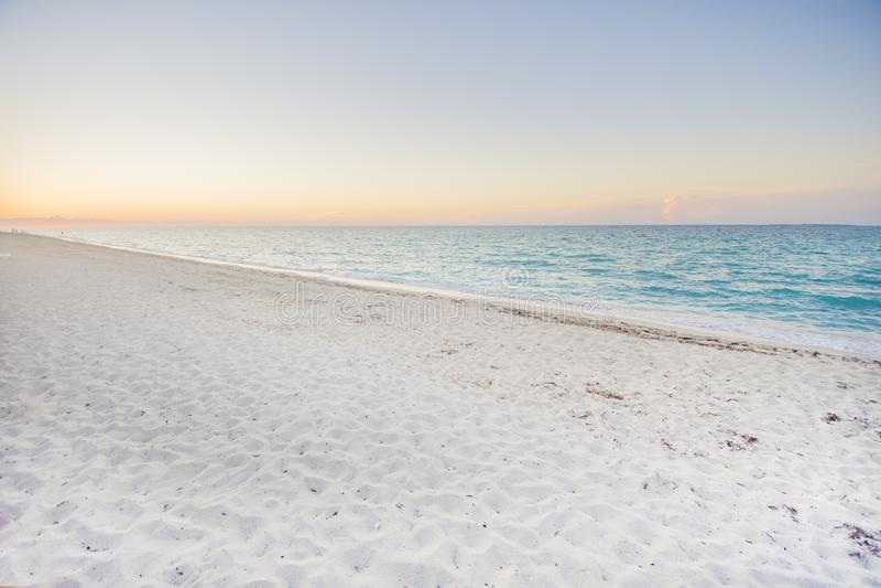 Beaches of the Caribbean, Varadero Beach, Cuba. stock photos