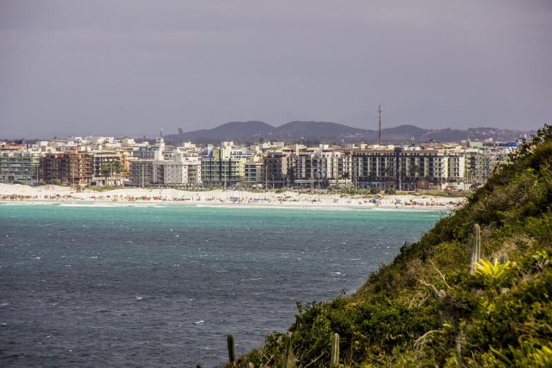 Of beaches of cold cape in rio de janeiro stock photo