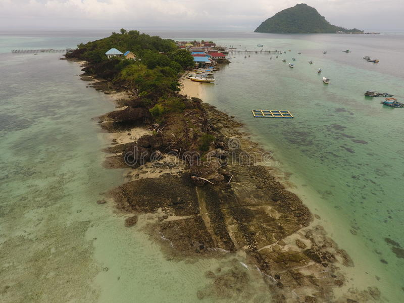 Beaches and island. Beatiful beaches and island from south sulawesi stock images
