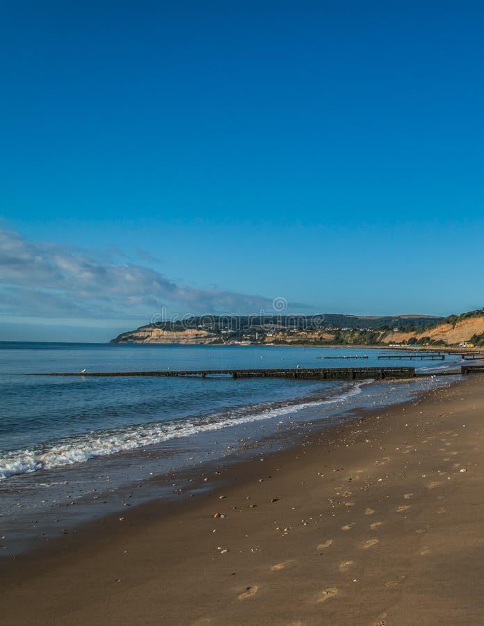 Beaches of Isle of Wight, UK, England stock images