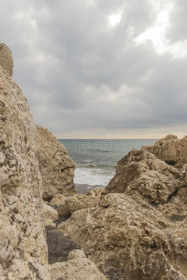 Beaches of Malaga. Andalucia Spain royalty free stock images