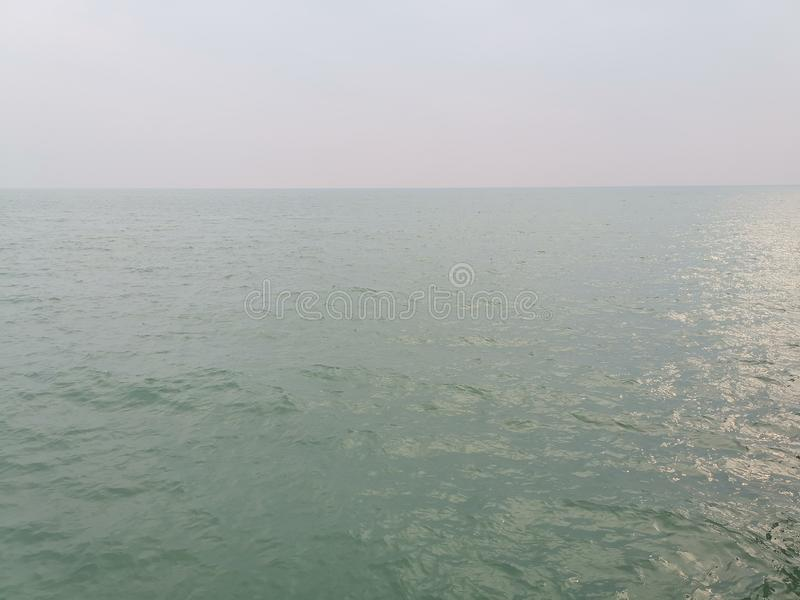 Beaches at Port Dickson. Port Dickson is a small town in Malaysia with beautiful beaches stock photo