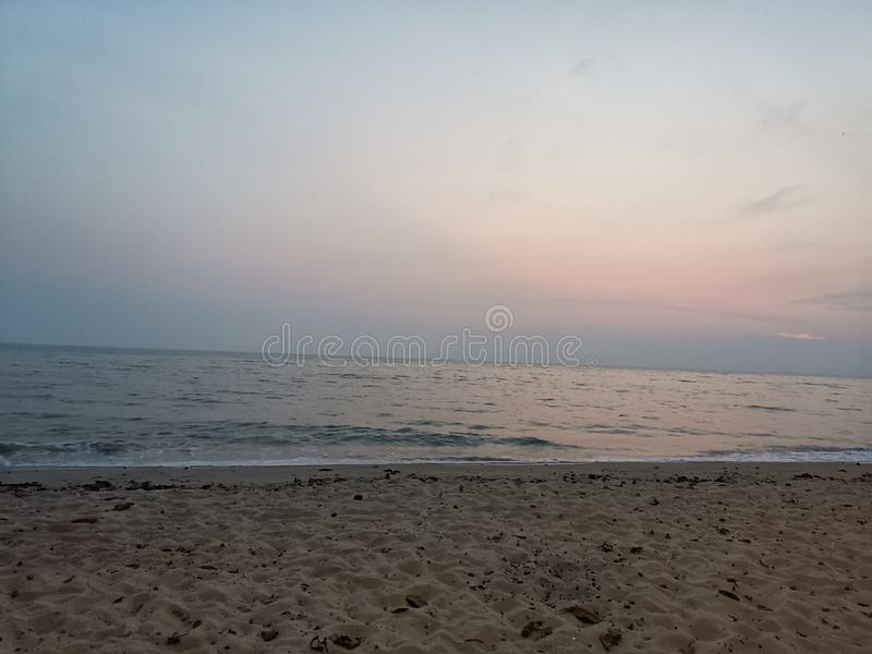 Beaches at Port Dickson stock image