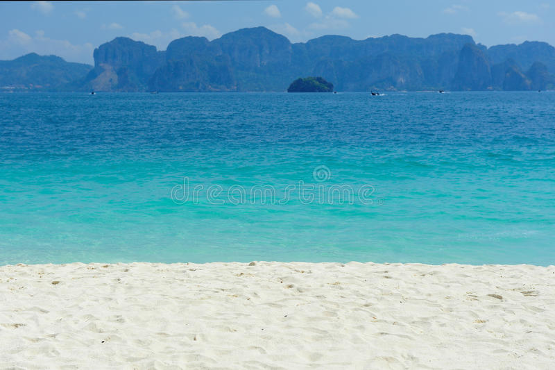 Beaches, rocks and sand. stock photography