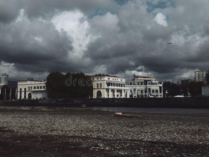 Beaches of Sochi royalty free stock photos