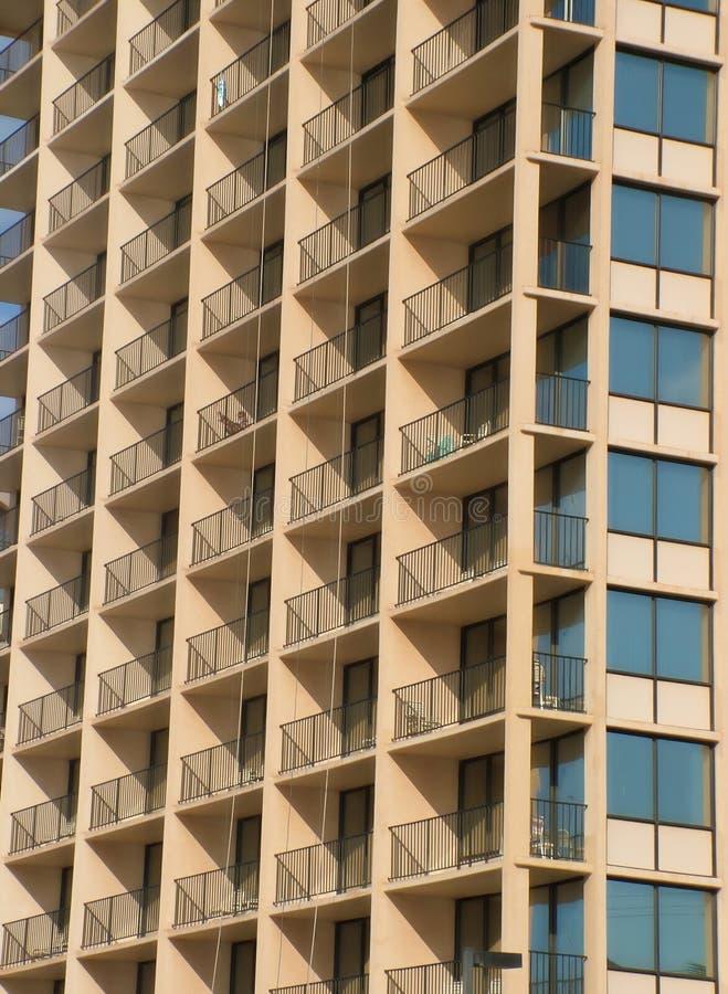 Download Beachfront Balconies stock image. Image of apartment, rental - 1694985