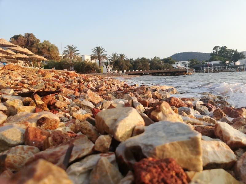 beachfront stock afbeeldingen