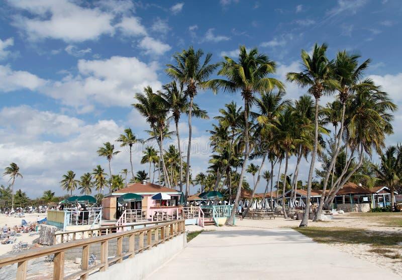 beachlife加勒比 库存照片