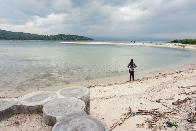 Beachon Menjangan Island. This photo taken on Menjangan Island Bali, Indonesia SOuth East Asia stock photos