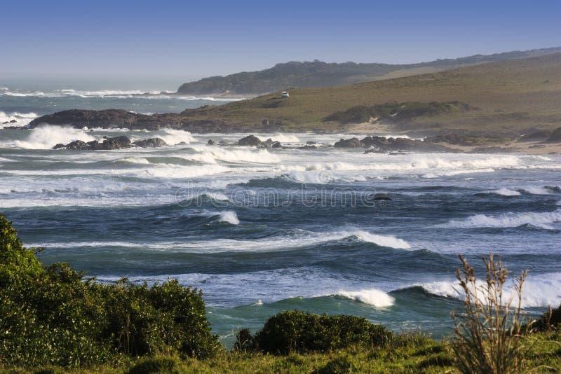 Beachscape - Transkei imagenes de archivo